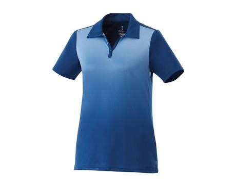 Elevate Next Ladies Golf Shirt in Blue Code ELE-6011