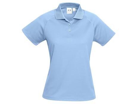 Biz Collection Ladies Sprint Golf Shirt in Light Blue Code BIZ-7104