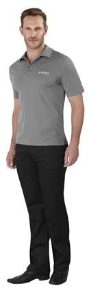 Elevate Mens Edge Golf Shirt Grey ELE-7302