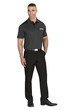 Gary Player Mens Sterling Ridge Golf Shirt in Black Code GP-9300